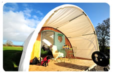 Adam the eco pod Quality Unearthed Luxury Camping at its finest