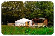 Shakti Yurt - Gower Peninsular