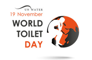 The World Toilet Day Logo helping to raise awareness with Quality Unearthed