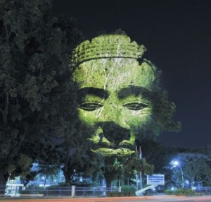 Clement Briend tree sculptures in Cambodia
