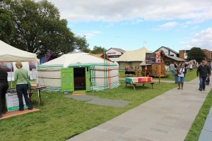 Glamping Show pitches at a 22015 event