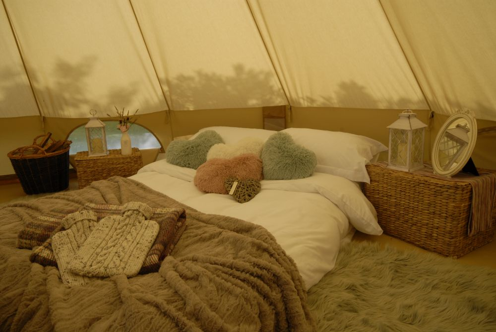 Star Court glamping in Pembrokeshire Wales