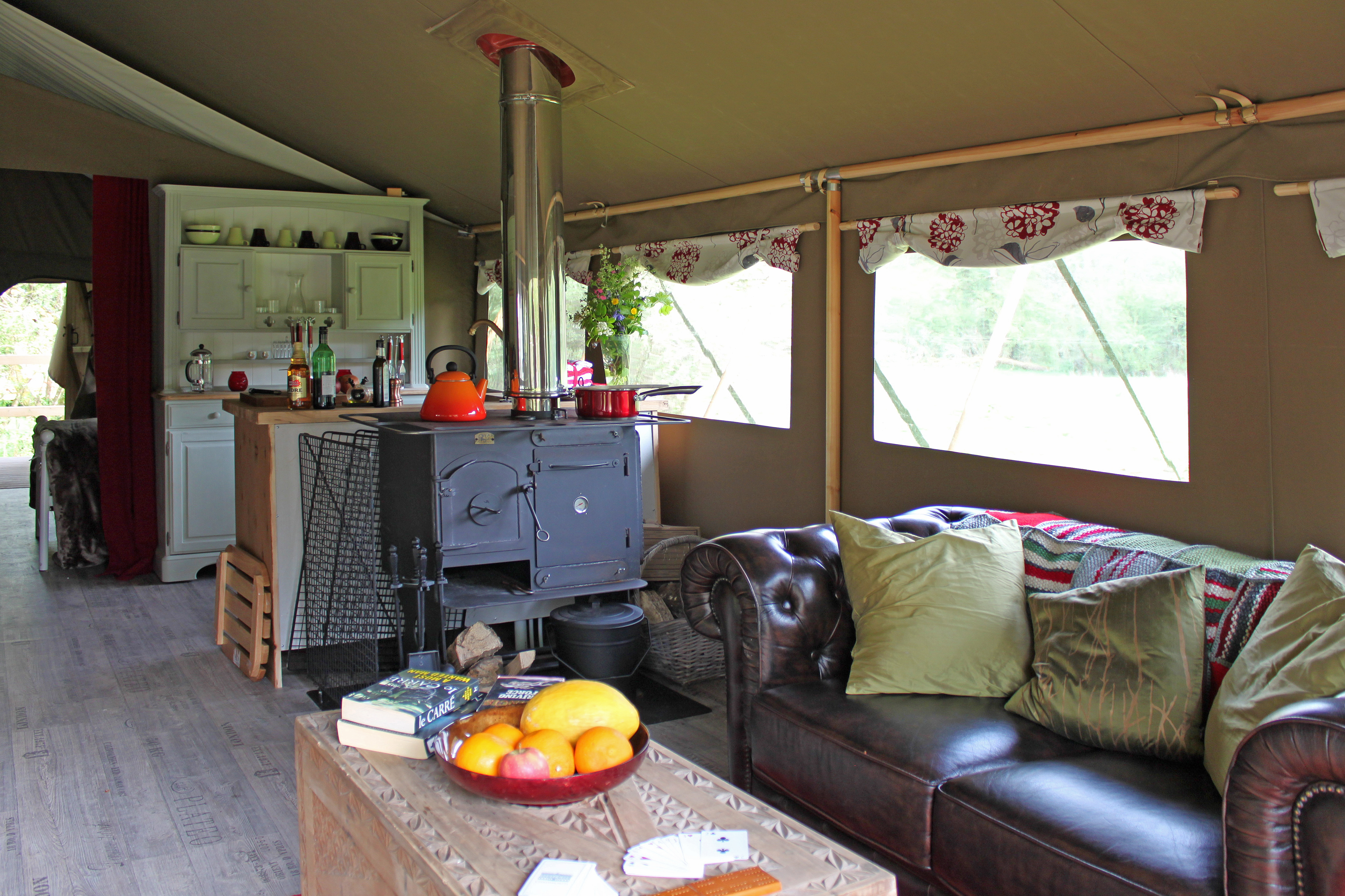 Why You Should Put A Wood Burner In Your Glamping Abode