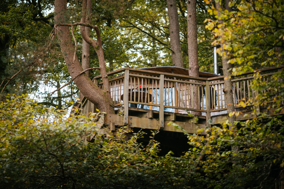 An example of one of our treehouses