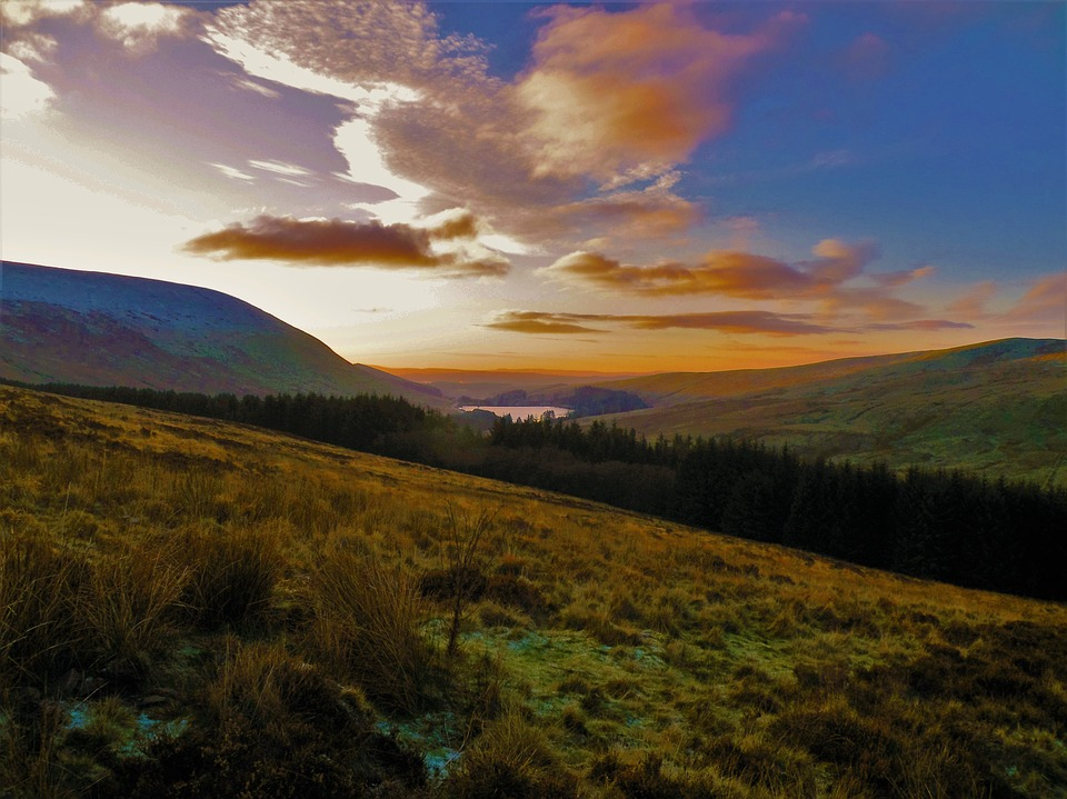 Sunset at Brecon Beacons