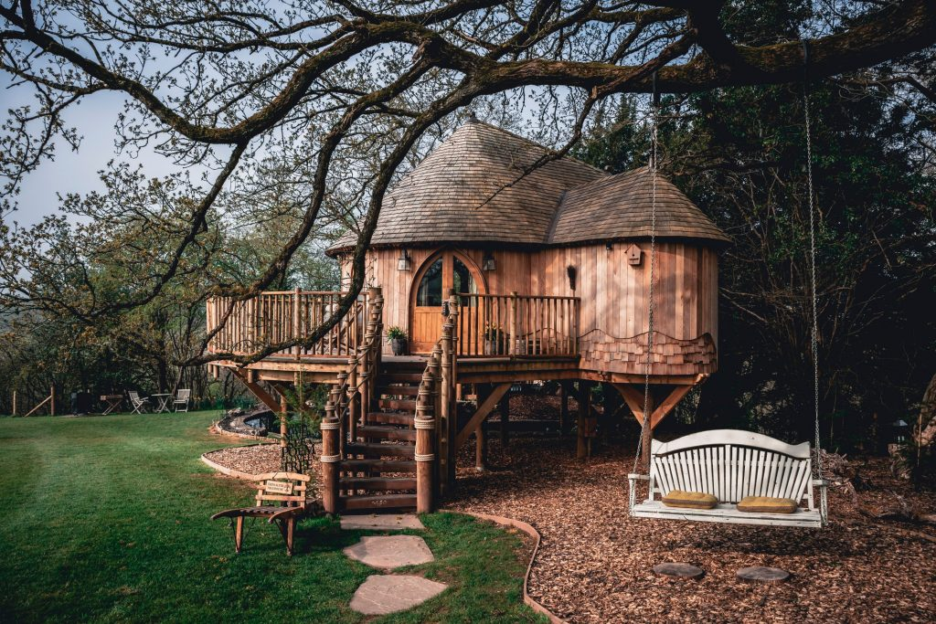 Trewalter Treehouse, Brecon Beacons